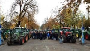 Manifestation des agriculteurs à Nancy © DR)