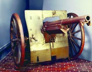 Modèle 1897 d'un canon 75 (© DR)