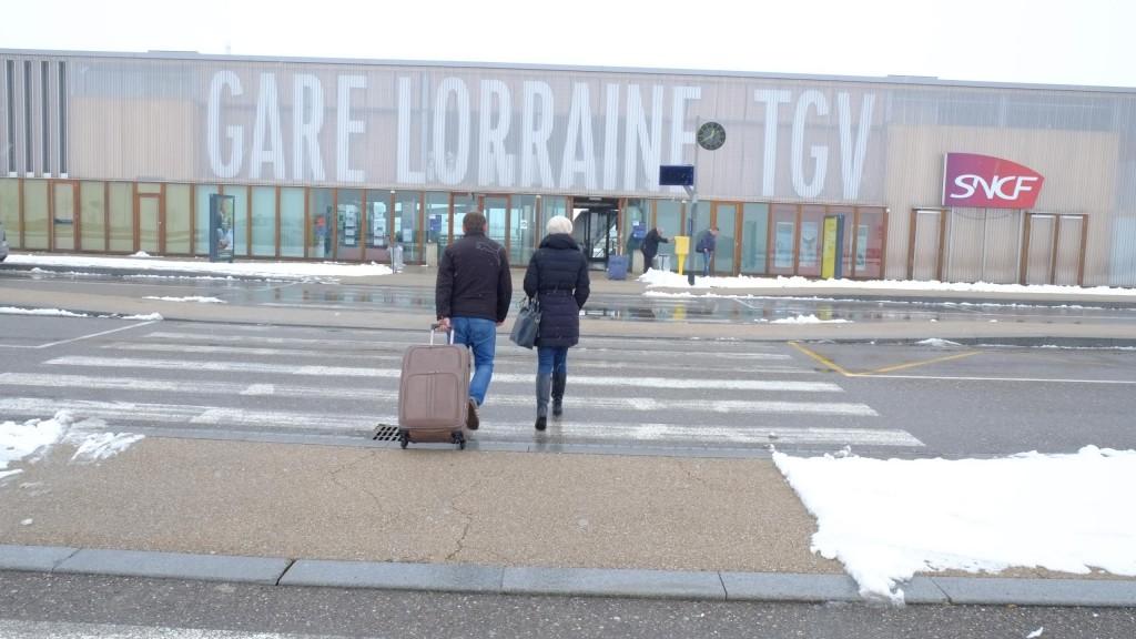Gare Lorraine TGV (© Mensuel L'Estrade)