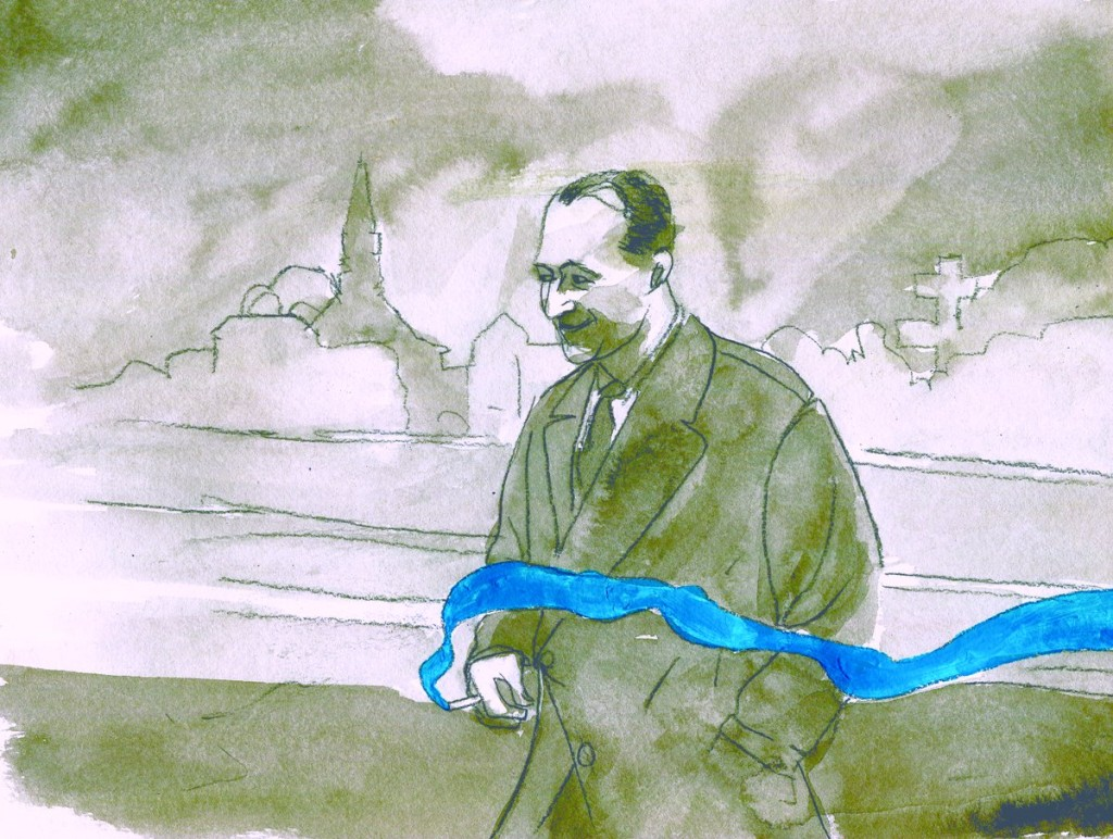 Raymond  Mondon (Illustration : Fabio Purino)