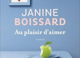 AU PLAISIR D'AIMER DE JANINE BOISSARD