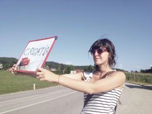 Sandra-reinflet-autostop (©DR)