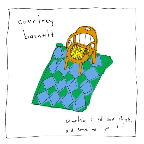 courtney barnett sometimes i sit (© DR)