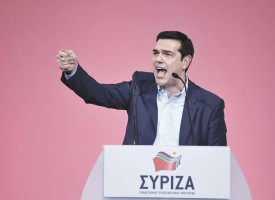 ALEXIS TSIPRAS RECONDUIT