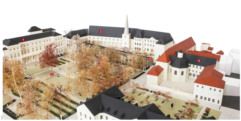 Le projet de rénovation du Palais des Ducs de Lorraine (©Dubois)