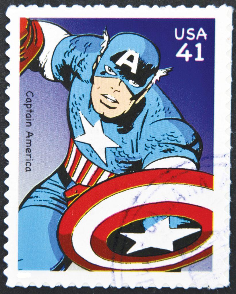 captain-america Jack Kirby (© 123RF)
