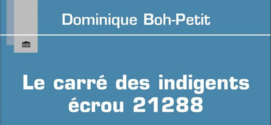 LE CARRÉ DES INDIGENTS de Dominique Boh-Petit