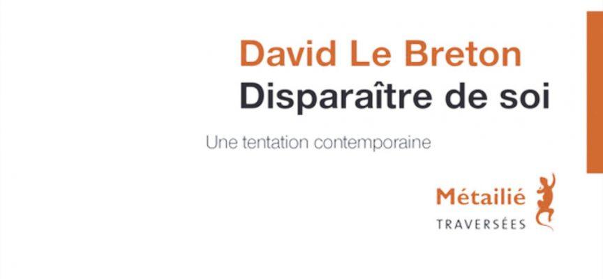TENIR de David Le Breton