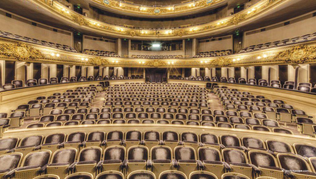 Le Théâtre Royal, un des derniers d'Europe aménagé à l'italienne (© DR)