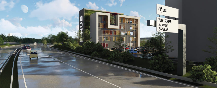 À THIONVILLE : Le S-Hub sort de terre
