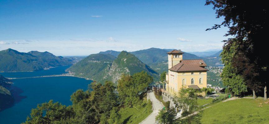 Lugano Le mont Brè (© DR)