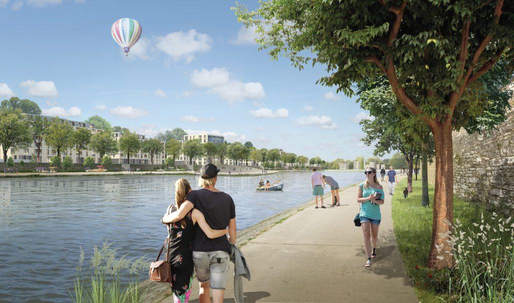 Thionville rive Droite, un projet urbain essentiel (©DR)
