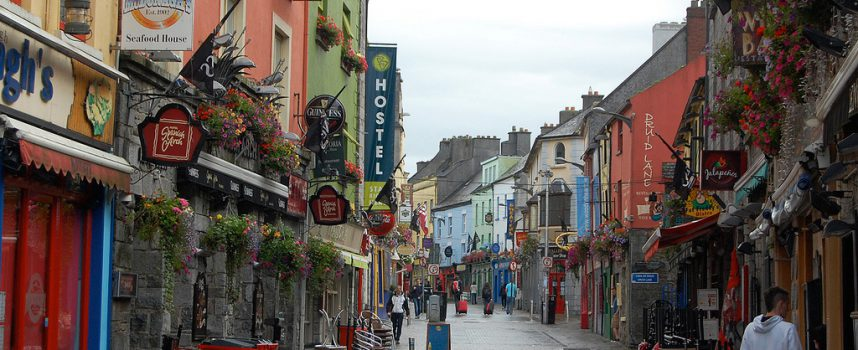 Galway le sens de la fête