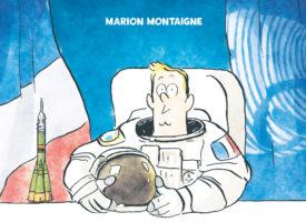 Dans la combi de Thomas Pesquet de M. Montaigne