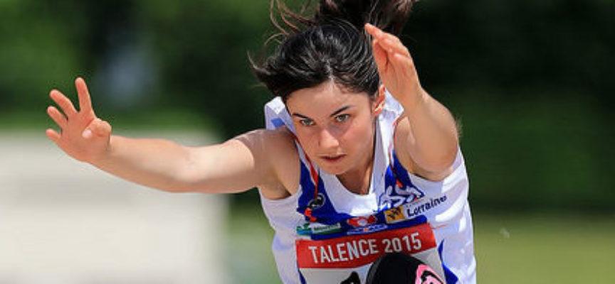 Athlétisme : Championne de l'enthousiasme