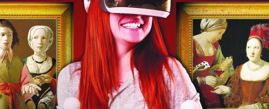 Musée départemental Georges de La Tour : L'atelier du peintre en réalité virtuelle