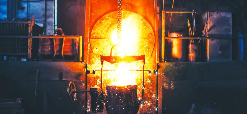 En croisade pour sauver l'acier