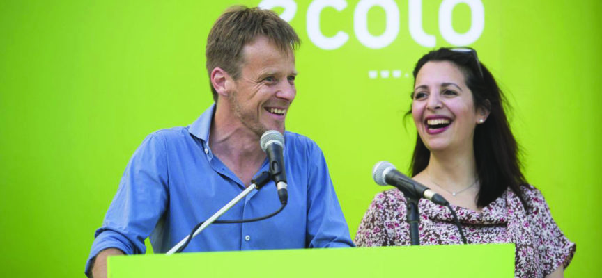 Belgique : Les Écolos, 3ème parti de Wallonie