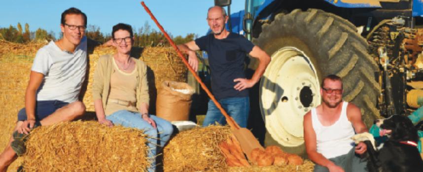 La ferme du Beau Printemps à Petit-Réderching : Retour à la terre