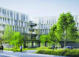 Futur siège de l'URCA : La 1ère pierre