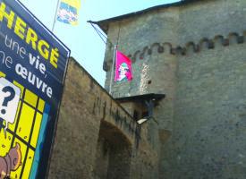 Château de Malbrouck : Pleins feux sur Hergé