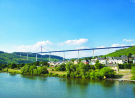 Le pont de la Moselle bientôt ouvert