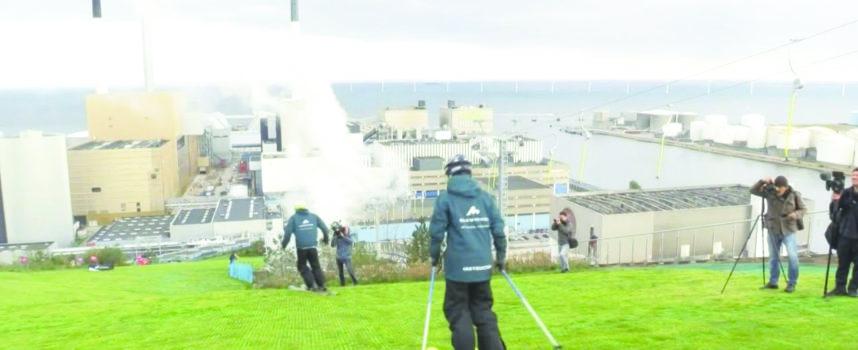 Danemark : skier sur une centrale d'incinération