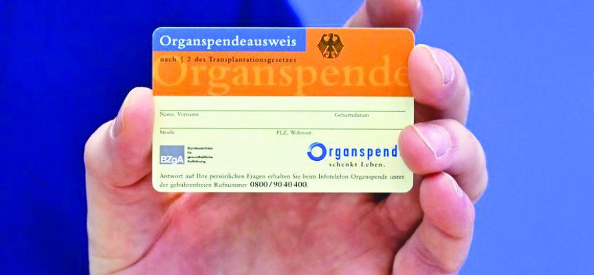 Dons d'organes : Statu quo législatif
