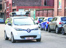 Liège : Les scan-cars en action