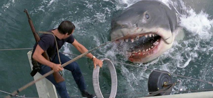 LES DENTS DE LA MER de Steven Spielberg