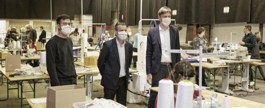« Un masque pour les Meurthe-et-Mosellans » 100% local 100% durable