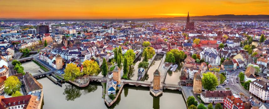 Strasbourg et Reims : Villes attractives