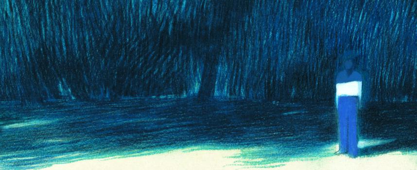 Rhapsodie en bleu d'Andrea Serio