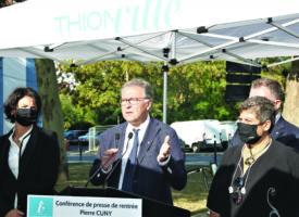 Pierre Cuny, Maire de Thionville, Président de l'agglomération Porte de France : «2020 est une année compliquée mais nous allons de l'avant»